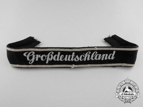 German Army Großdeutschland Cuff Title (Latin version) Obverse