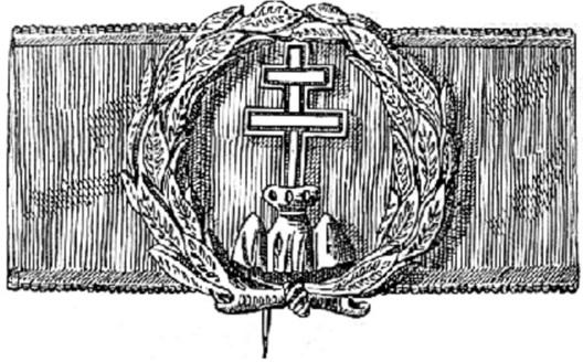 Hungarian Order of Military Merit, II Class Obverse
