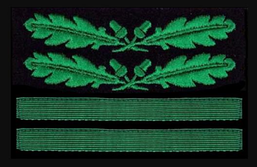 German Army Oberst Sleeve Grade Insignia Obverse