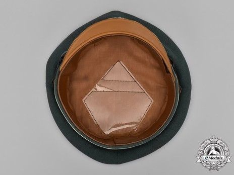 German Army Infantry NCO/EM's Visor Cap Interior