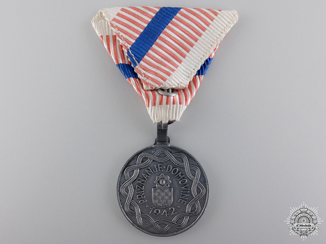 Iron Medal (ribbon with 1 stripe) Reverse