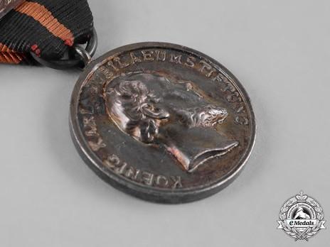 King Karl Jubilee Recognition Medal Obverse