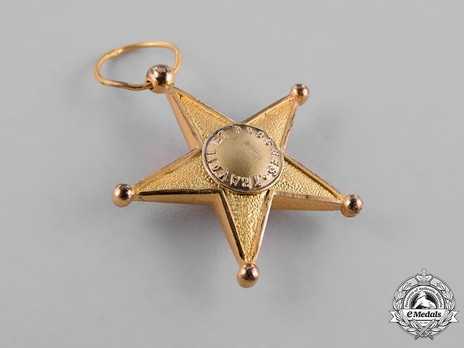 Colonial Service Star Obverse