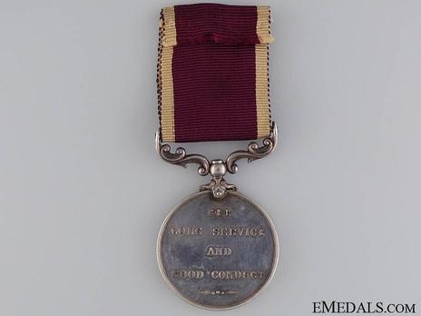 Silver Medal (1902-1911) Reverse