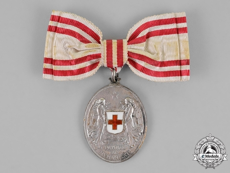 Honour Decoration of the Red Cross, Civil Division, Silver Medal (for Women)