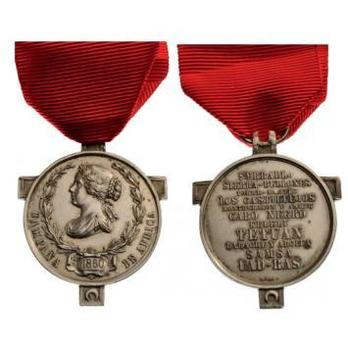 Silver Medal (without crown) Obverse and Reverse