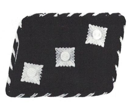 Allgemeine SS Untersturmführer Collar Tabs (pre-1934 version) Obverse