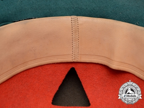 German Army Pith Helmet (2nd version) Sweatband Detail