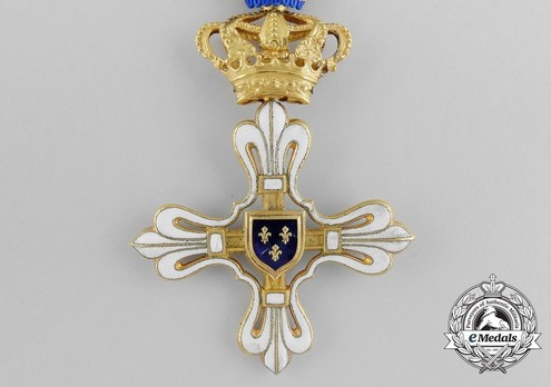 Civil Merit Order of St. Louis, Grand Cross Reverse