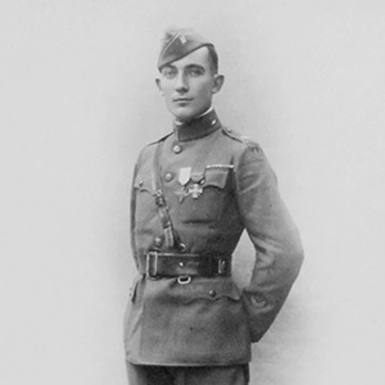 Ralph Welcome Baker served with the 315th Engineers, Company A in France, 1918.