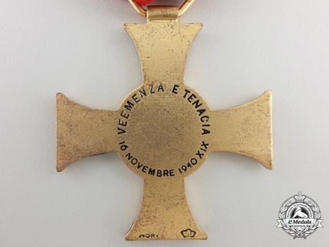 "Cross (stamped ""G. MORI"") Reverse"