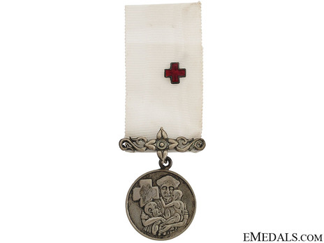 Red Cross Appreciation Silver Medal (II Class) Obverse
