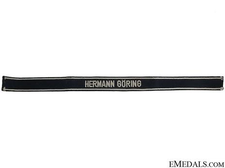 Luftwaffe Hermann Göring Cuff Title (Officer version) Obverse