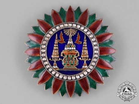 Order of the Crown of Thailand Grand Cross Breast Star (I Class) Obverse
