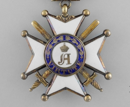 Order of Civil and Military Merit of Adolph of Nassau, Officer (Military Division)