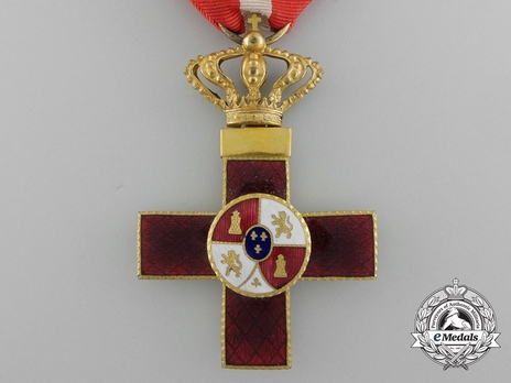 1st Class Cross (red distinction) (Gilt) Obverse