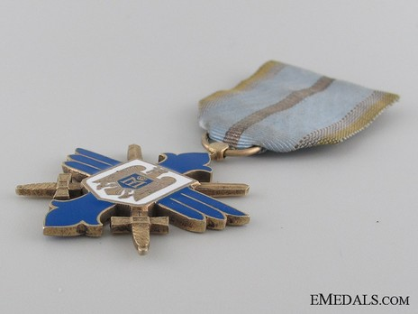 Order of Aeronautical Virtue, Type II, Military Division, Knight's Cross Obverse