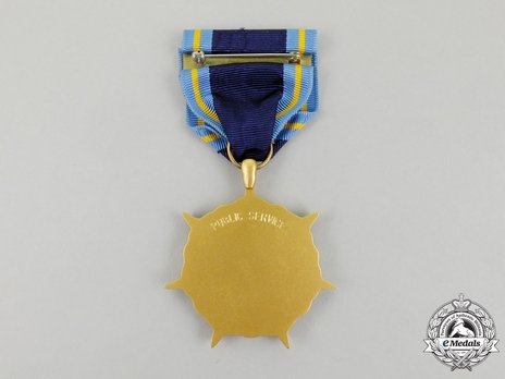 NASA Distinguished Public Service Medal Reverse