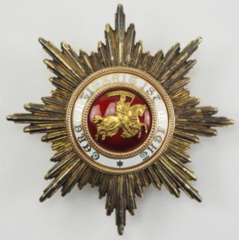Order of Berthold I, Grand Cross Breast Star
