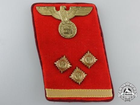 NSDAP Ober-Einsatzleiter Type IV Gau Level Collar Tabs Obverse