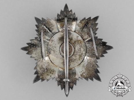 Order of Osmania, Civil Division, II Class Breast Star Reverse