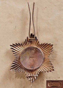 Order of Merit, Type I, Civil Division, Grand Cross Breast Star (for Foreigners)