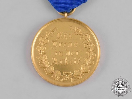 Decoration for Domestic Servants and Labour, Silver Medal (for Men)