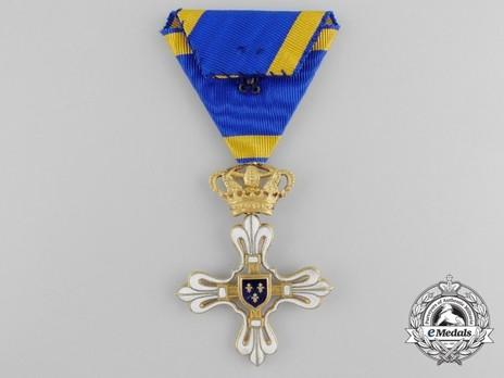 Civil Merit Order of St. Louis, I Class Knight Reverse