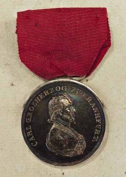 Medal of Honour in Silver, Type II