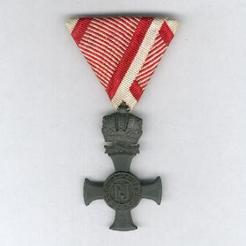 Type III, Iron Cross (with crown, in zinc) Obverse