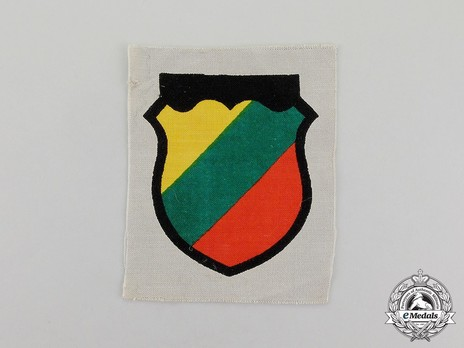 German Army Lithuania Sleeve Insignia Obverse
