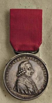 Bravery Medal in Silver