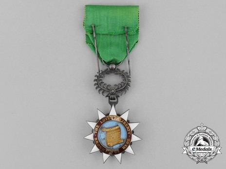 Order of the Pioneers of Liberia, Knight Reverse