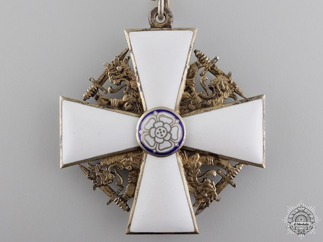 Order of the White Rose, Type II, Civil Division, Grand Cross