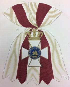 Royal and Military Order of St. Hermenegildo, Grand Cross