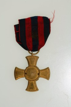 Cross (Bronze gilt) Reverse