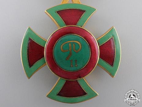 Order of Emperor Menelik II, Commander Reverse
