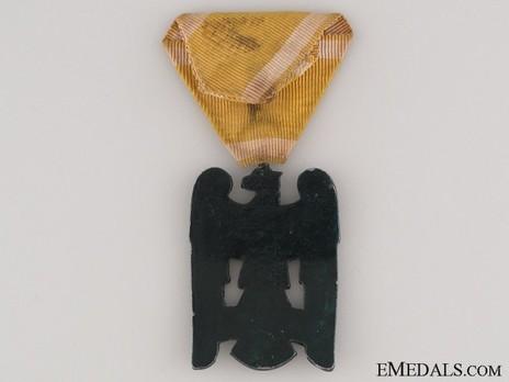 Silesian Eagle, II Class (in silvered iron) Reverse