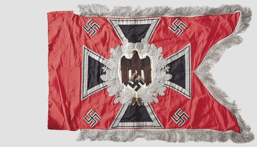 German Army General Army Unit Flag (Artillery Motorized and Mounted version) Obverse