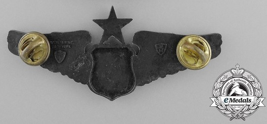 Senior Wings (with sterling silver) Reverse