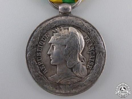 "Silver Medal (Navy, stamped ""DANIEL DUPUIS"") Obverse"