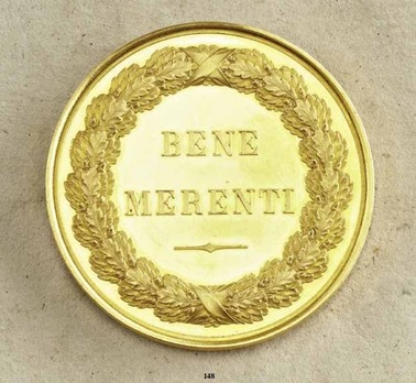 Bene Merenti, Type I, Small Gold Medal