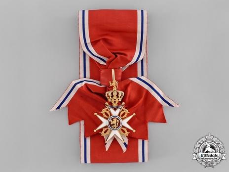 Order of St. Olav, Military Division, Grand Cross