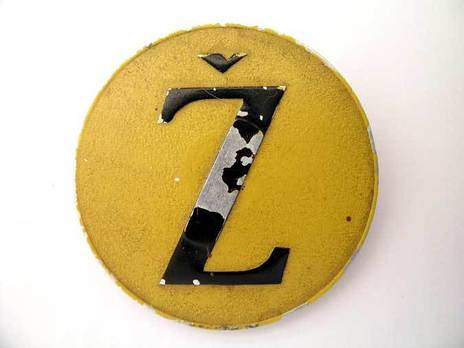 Aluminum Badge Obverse