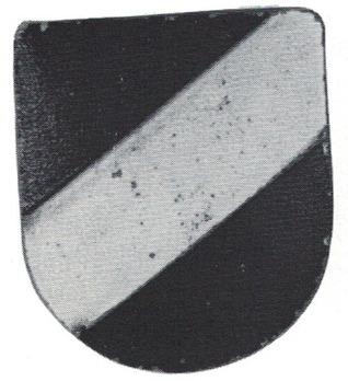 Kriegsmarine Tri-Colour Shield Decal Obverse