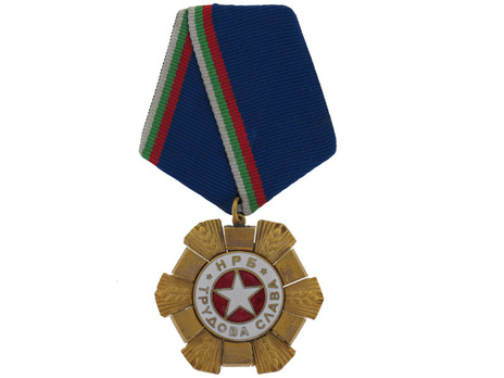 Order of Labour of Glory, I Class Obverse