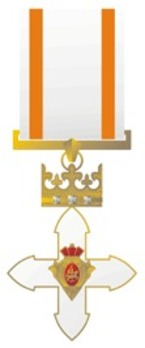 Order of Vytautas the Great, Knight's Cross Obverse