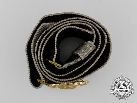 Kriegsmarine Officer's Brocade Dress Belt Strap Top