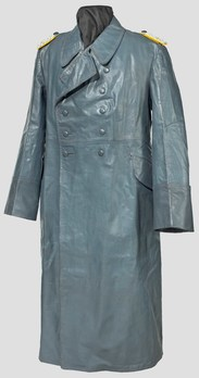 Luftwaffe Leather Greatcoat Obverse