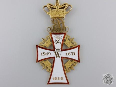 Order of Dannebrog, II Class Commander (Christian IX 1861-) Reverse